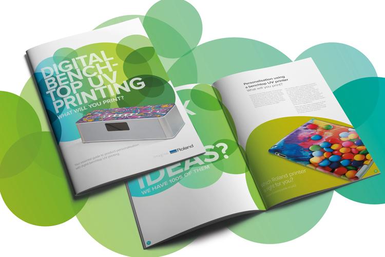 Roland DG explora todas las posibilidades de la personalización de productos en la guía sobre impresión directa con tecnología UV