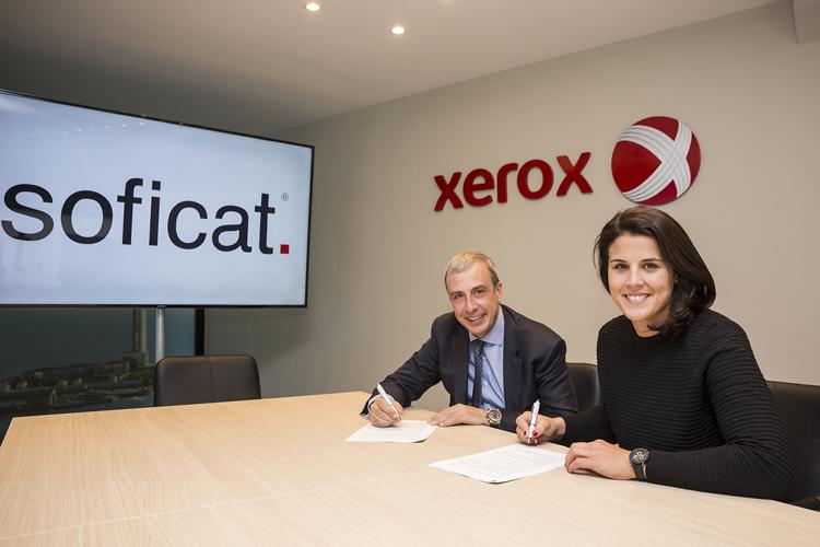 Soficat Xerox se convierte en el principal patrocinador personal de Laia Sanz