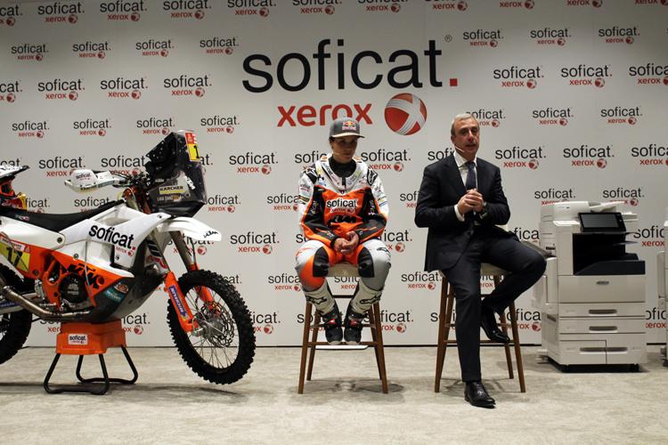 Laia Sanz confirma que correrá el Dakar, con el patrocinio de Soficat Xerox, tras superar una enfermedad