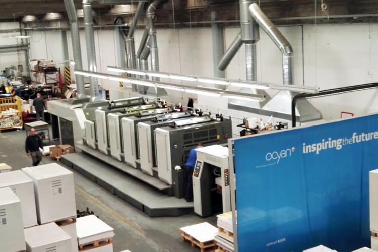 Ocyan aumenta la productividad y reduce los costes de mano de obra y las mermas gracias al software de flujo de trabajo Phoenix de Tilia Labs y Fujifilm