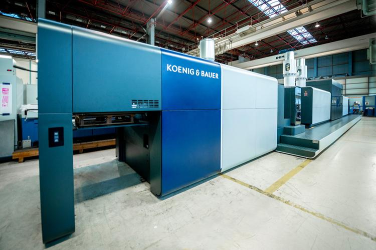 Durst y Koenig & Bauer forman una empresa conjunta para líneas de producción de impresión digital