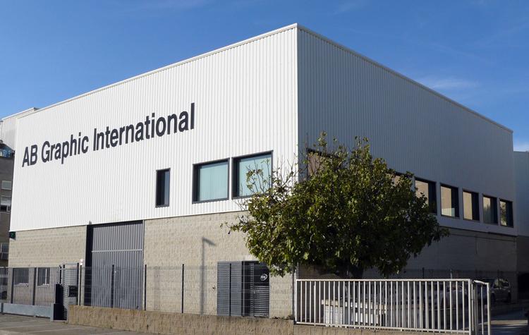 AB Graphic International se traslada a sus nuevas instalaciones en Sant Feliu de Llobregat