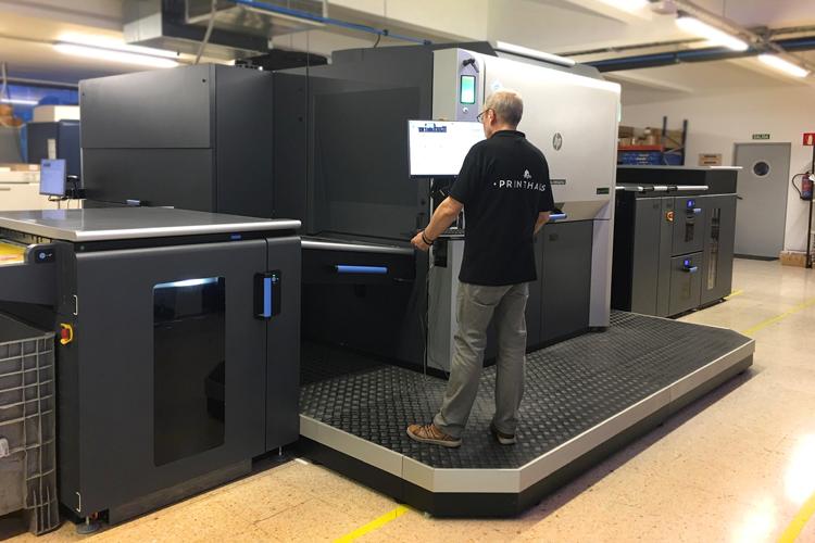 Printhaus amplía su catálogo de servicios con la instalación de la prensa digital HP Indigo 12000
