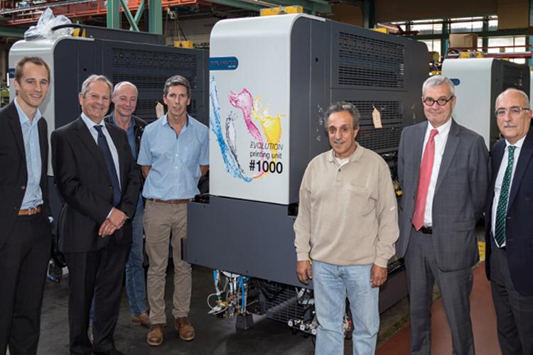 Manroland instala la máquina ROLAND 700 EVOLUTION número 1000