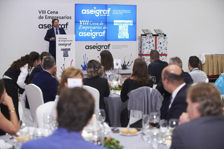 """Aseigraf celebró su VIII Cena de Empresarios – Homenaje """"Gráficos 50 años"""""""