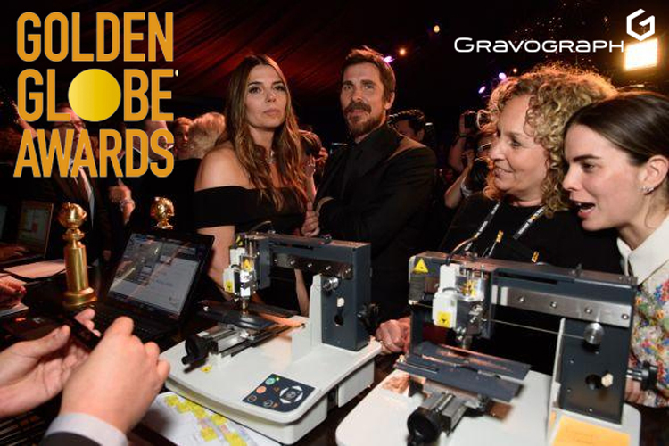 Gravograph estuvo presente en los Globos de Oro 2019