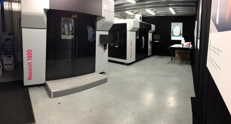 Massivit 3D abre un centro de demostración en Europa