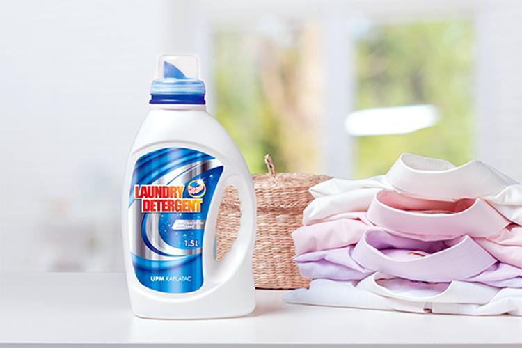 Mediante el lanzamiento de una cartera global de productos, UPM Raflatac cumple con los estrictos requisitos del etiquetado en el cuidado del hogar