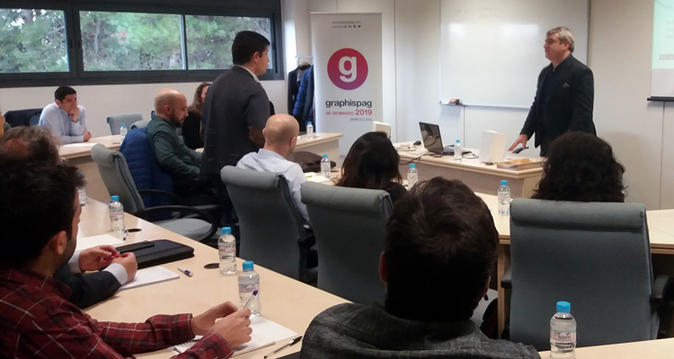 Graphispag imparte cursos de marketing ferial en Madrid y Barcelona