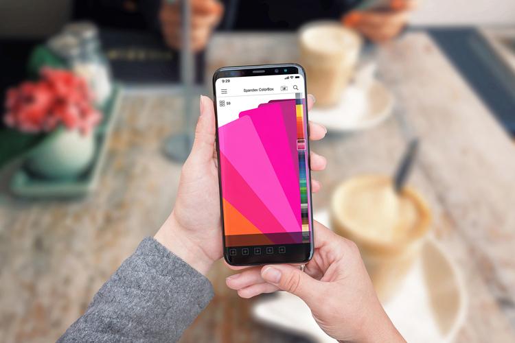 Spandex ColorBox, la nueva app gratuita de muestrarios de color para rotulistas