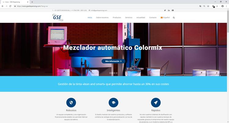 El sitio web de GSE ya ofrece información en español sobre buenas prácticas en la gestión de la tinta