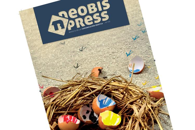 """Ganador de la III edición del concurso  neobispress """"Diseña la portada de la Comunicación Gráfica"""""""