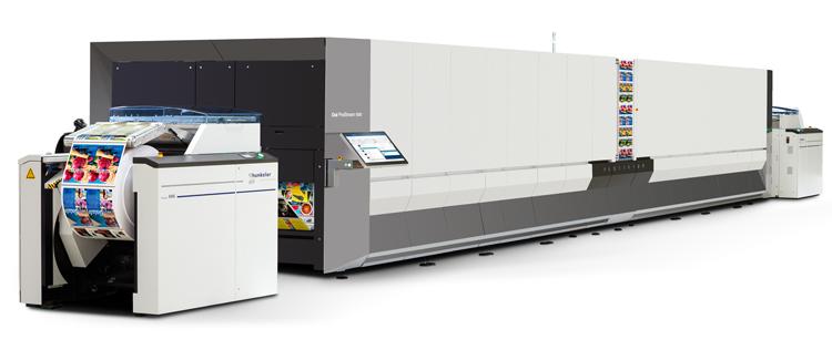 Canon ayuda a sus clientes a incrementar la velocidad en la producción de libros de alta calidad con Océ ProStream 1000
