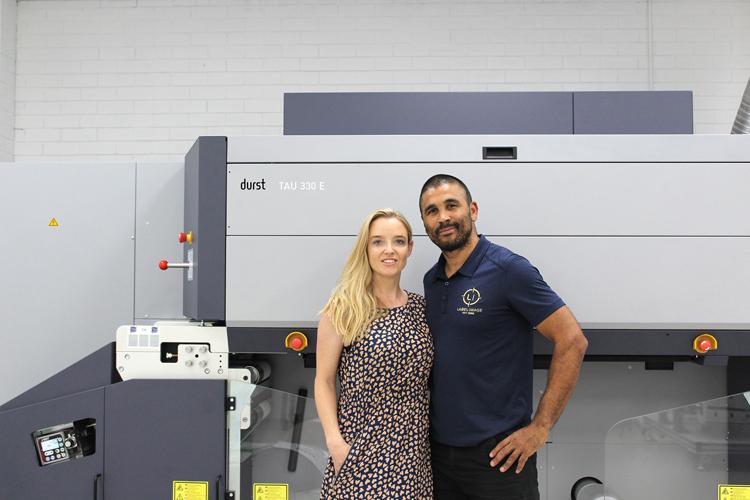 Label Image elige la impresora inkjet Durst Tau 330 E para expandirse