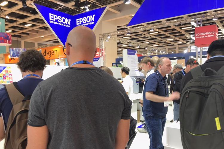 Epson presenta sus nuevas soluciones para potenciar la creatividad en FESPA 2019