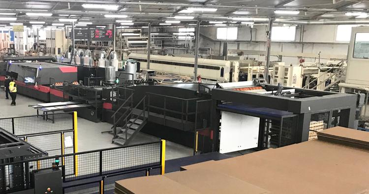 Hinojosa acelera su estrategia digital con la adquisición dedos nuevas impresoras para packaging de EFI