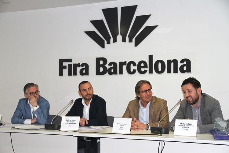 Gabriel Virto revalida su cargo como Presidente de FESPA España