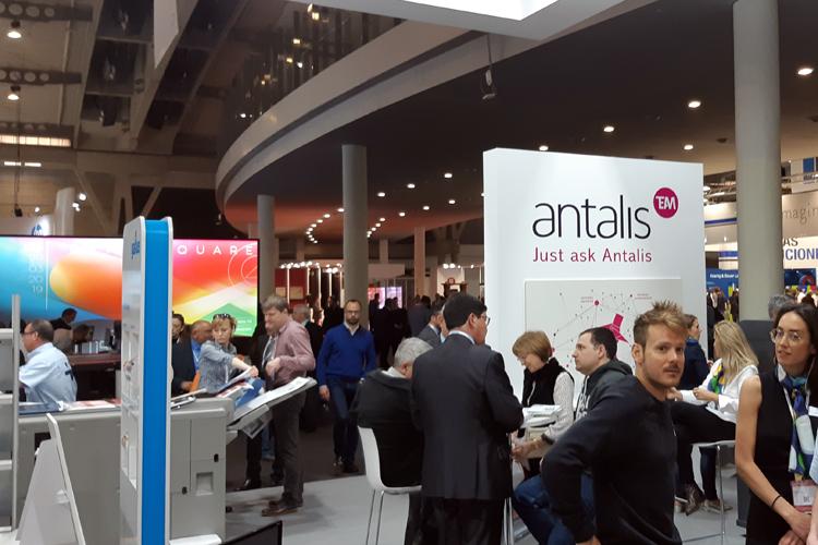 Un año más Antalis ha estado presente en Graphispag colaborando con varios de los expositores y con Fira Barcelona