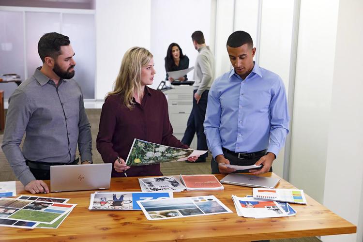 HP se compromete a que cada página impresa sea respetuosa con el medioambiente, y forme parte de la economía circular