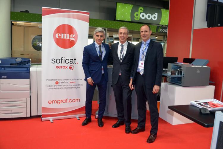 Soficat Xerox y EMG: nuevos partners para dar soluciones completas a la impresión digital
