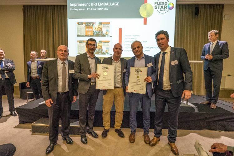Cinco premios FlexoStars de la ATF Flexo demuestran la calidad de impresión flexográfica de Comexi