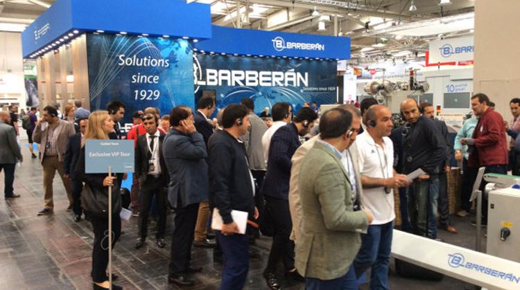 Barberán introduce la última tecnología e innovaciones en acabados y texturas en LIGNA 2019