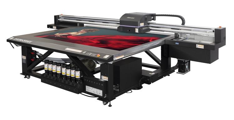 Mimaki anuncia el lanzamiento europeo de la impresora plana inkjet de tinta UV para gran formato JFX200-2513 EX en Fespa 2019