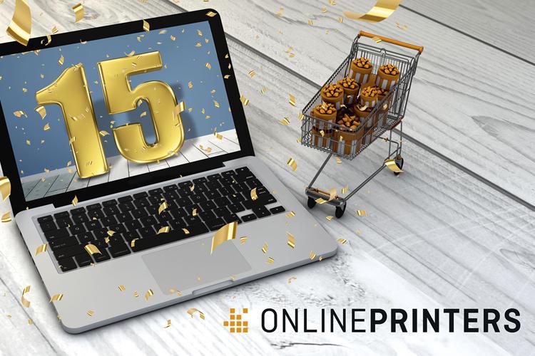 Récord en el año del aniversario de onlineprinters, 3.200 millones de impresos producidos