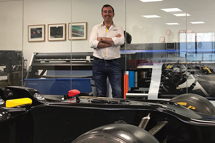 El equipo Renault de F1® elije TrueVIS VG2