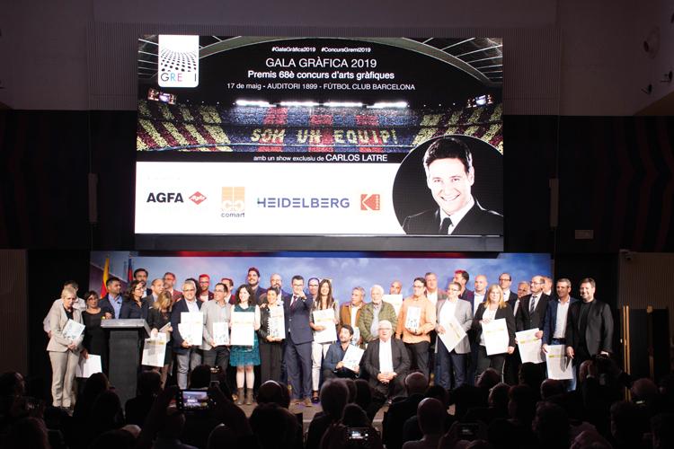 Los Premios Gremi llenan el Auditorio 1899 del FC Barcelona