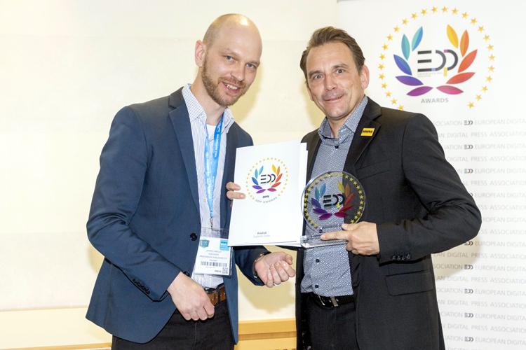 Kodak gana el premio EDP 2019 por su nueva solución Custom Color en los sistemas de impresión digital KODAK NEXFINITY y KODAK NEXPRESS