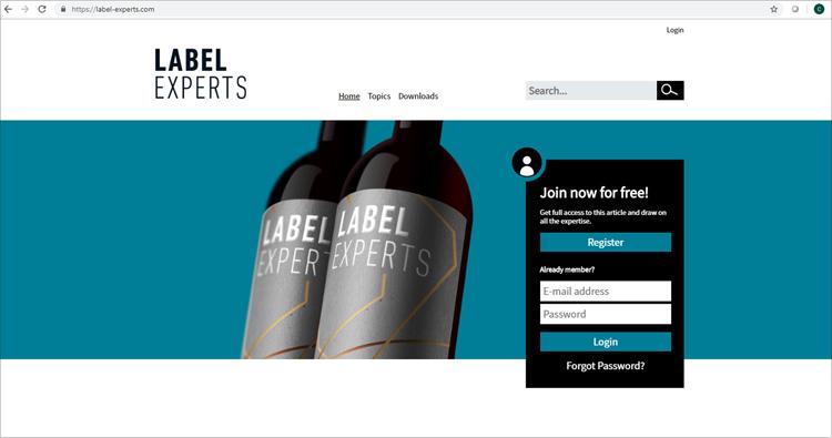 """Nueva plataforma """"Label Experts"""": el nuevo portal de información y conocimiento para la impresión de etiquetas"""