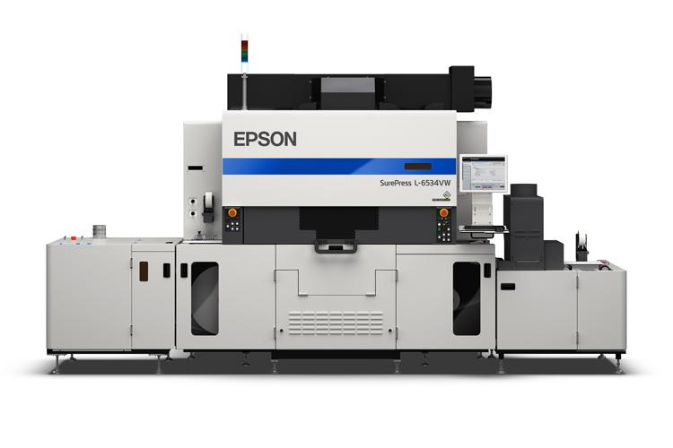 La nueva SurePress de Epson alcanza velocidades de impresión de hasta 50 metros por minuto