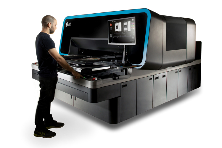 Kornit Digital lanza Atlas, la plataforma superindustrial de última generación para la impresión directo a prenda