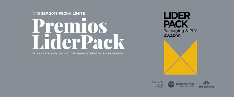 Abiertas las inscripciones a los Premios Liderpack 2019 de packaging y PLV