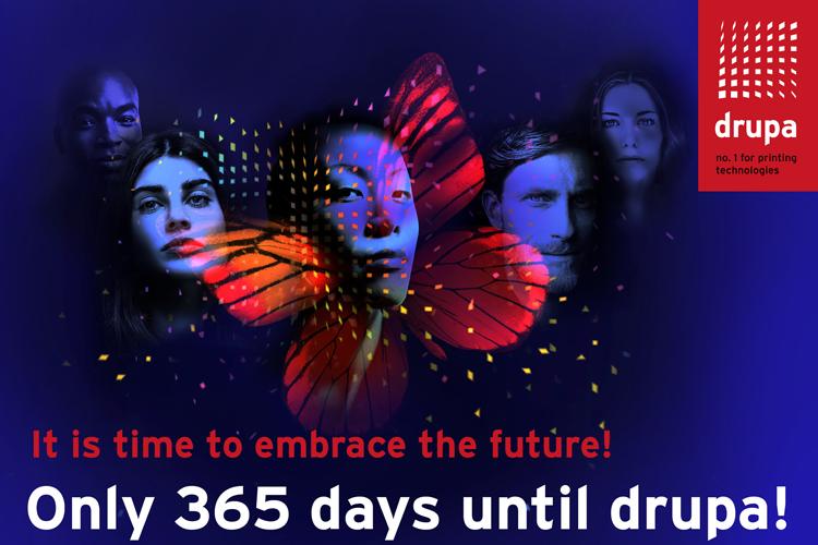 Drupa 2020: ¡Es hora de abrazar el futuro!, solo un año para drupa