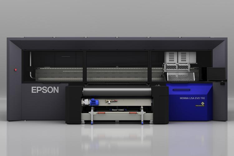Monna Lisa Evo Tre 64 de Epson, alto volumen y productividad con la mejor calidad para impresión textil digital
