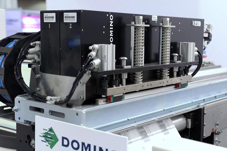Domino presenta la impresora inkjet UV digital K600i en Labelexpo Europe 2019