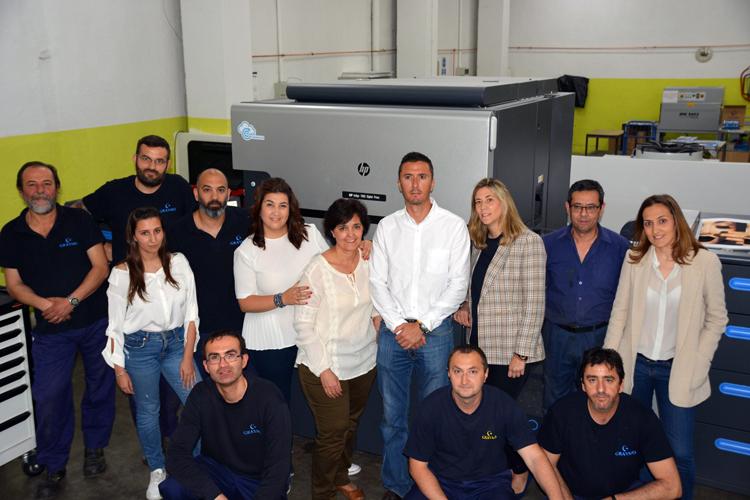 Graymo amplía su catálogo de servicios con la instalación de la prensa digital HP Indigo 7900