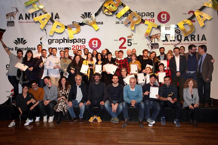 Abierta convocatoria de la XXVI edición de los ANUARIA, los premios Nacionales de Diseño Gráfico de los profesionales de toda España