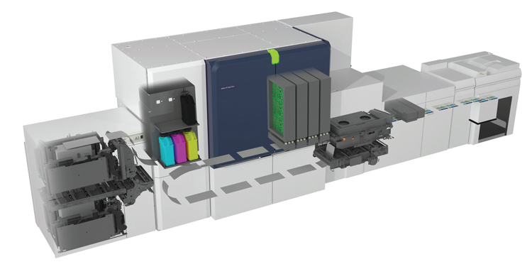 Xerox revoluciona la tecnología de inyección de tinta con la nueva prensa Baltoro HF