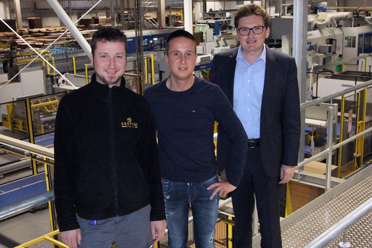 G & G Preißer ha puesto en servicio seis máquinas nuevas de BOBST en su nueva planta de producción