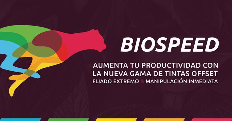 Brigal presenta BIOSPEED la tinta de secado extremo con más calidad del mercado