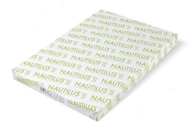 Unión Papelera distribuirá el papel reciclado NAUTILUS® en formato de hojas y bobinas