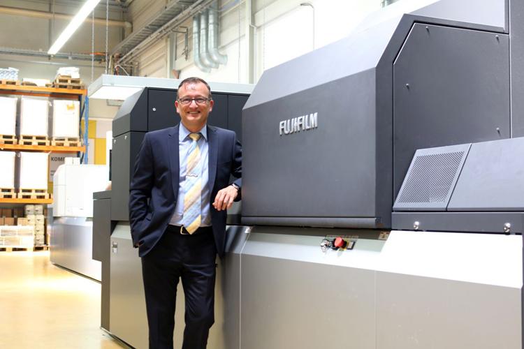 La nueva Fujifilm Jet Press 750S de Straub Druck & Medien AG es la tercera Jet Press que la empresa instala en cinco años