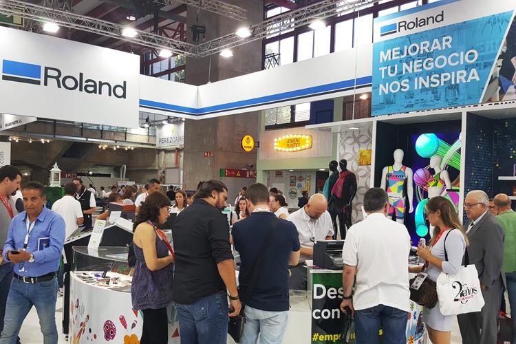 Roland DG se prepara para inspirar en C!Print Madrid 2019 con importantes lanzamientos