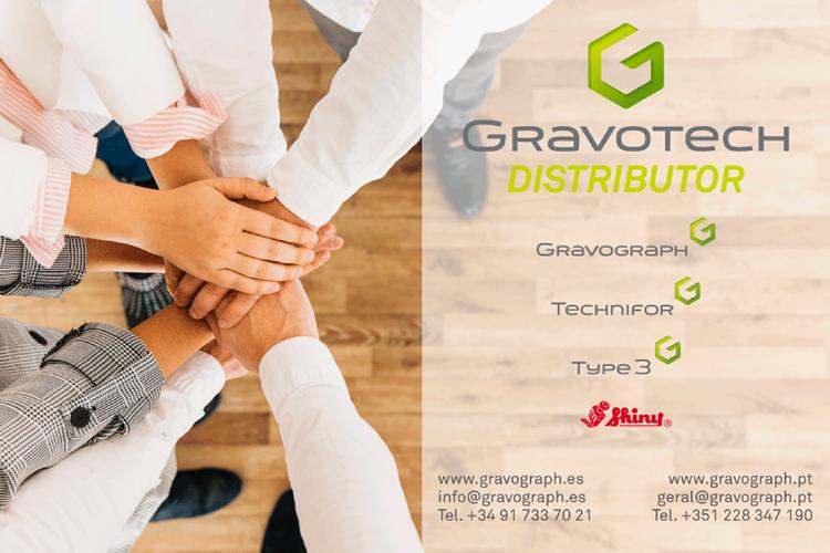 Gravotech crece en la Península Ibérica