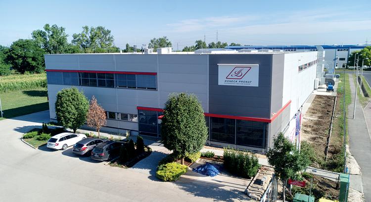 Doneck Network invierte en una nueva planta en Hungría