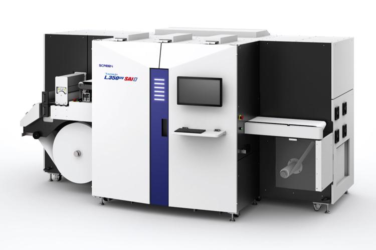 SCREEN desarrolla una nueva prensa digital de etiquetas que ofrece una vanguardista reproducción de color y escabilidad