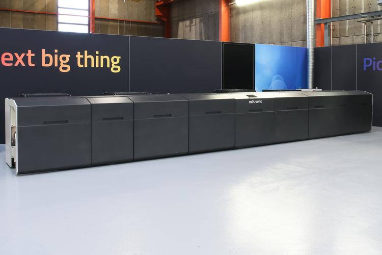 Mouvent presentará dos impresoras digitales de etiquetas pioneras en Labelexpo 2019